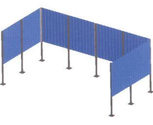 ограждение для ТБО OM-024